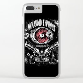 Humanoid Typhoon Clear iPhone Case
