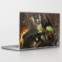 warcraft Laptop & iPad Skins featuring Toxic War by BAXA by baxaart