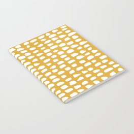 Dots / Mustard Notebook