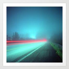 Patapsco River Fog Art Print