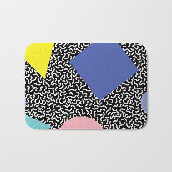 Memphis Pattern 2 Bath Mat