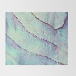 IRIDISCENT SEASHELL MINT by Monika Strigel Throw Blanket