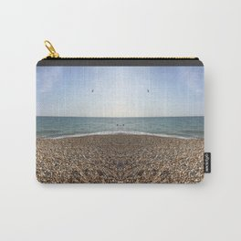 Mirrored beach photo Carry-All Pouch