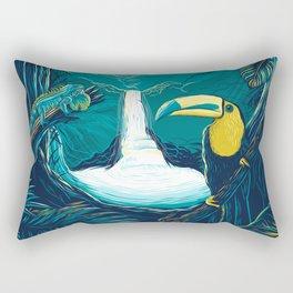 costa rica rainforest Rectangular Pillow
