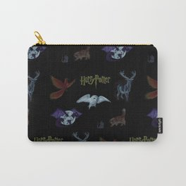 Harry Potter Creature Pattern  Carry-All Pouch