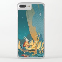 Master and student Clear iPhone Case