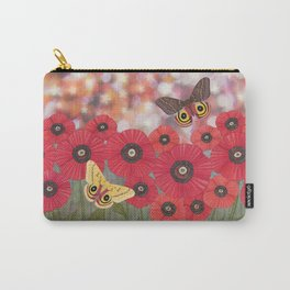 the moon, stars, io moths, & poppies Carry-All Pouch