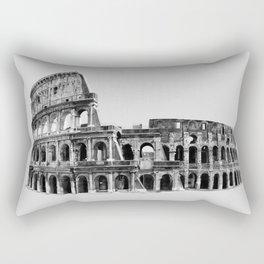 Colosseum Drawing Rectangular Pillow