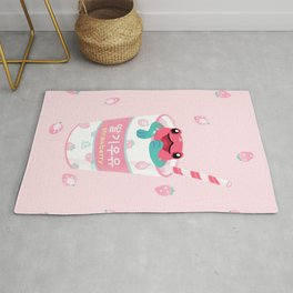 Strawberry poison milk 2 Rug