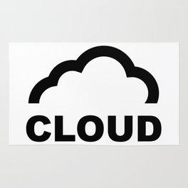 Cloud Logo Rug
