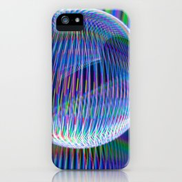 lights in the globe iPhone Case
