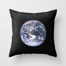 Nasa Picture 4: The earth from the space or the blue marble. Throw Pillow