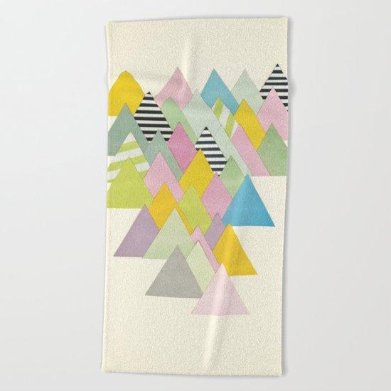 French Alps Beach Towel
