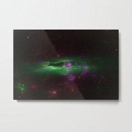 ZoooooZ green Galaxi Metal Print