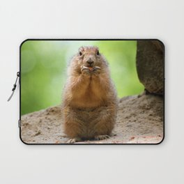 Black Tailed Prairie dog Laptop Sleeve