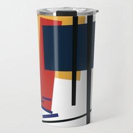 Tribute to K. Malevich (n.1) Travel Mug