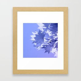Purple Bough Framed Art Print