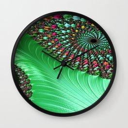 Carnival Green Wall Clock
