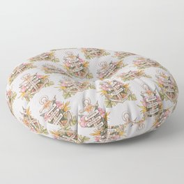Remove everything that holds you down Floor Pillow