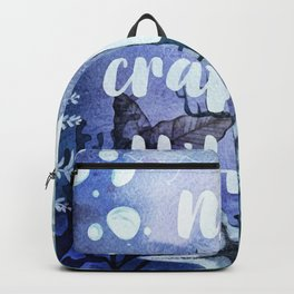 No Crabby Attitudes Backpack