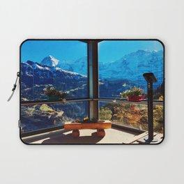 Swiss Alps Looking Glass Laptop Sleeve