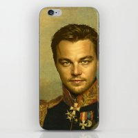 replaceface iPhone & iPod Skins featuring Leonardo Dicaprio - replaceface by replaceface