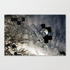 Sky Surrealism. Canvas Print