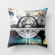 TwoWorldsofDesign Throw Pillow