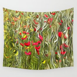 Poisoned Poppies Wall Tapestry
