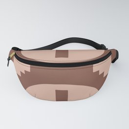 .Brown and pink boho -. Fanny Pack