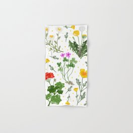 Spring Wildflowers Hand & Bath Towel