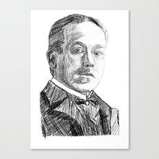 Hjalmar Söderberg Canvas Print