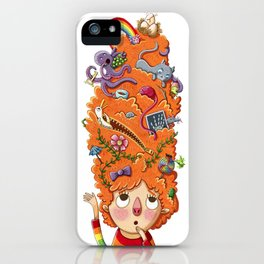 Ginger A to Z  iPhone Case