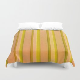 Stripes - Pumpkin Duvet Cover