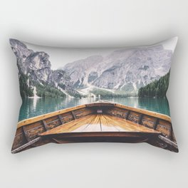 Mountain Lake Rectangular Pillow