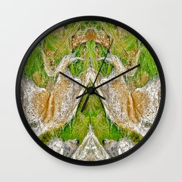 Ocean Grass Wall Clock