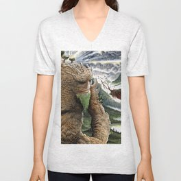 The Earth Golem Unisex V-Neck