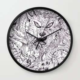 It'z Time For Dinner By: Matthew Crispell Wall Clock