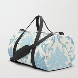 Damask Blue Starry Night Duffle Bag