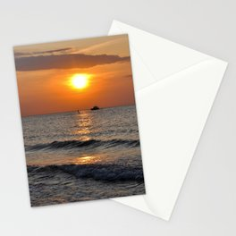 SUMMER-FEELING - Sunset - Baltic Sea Stationery Cards
