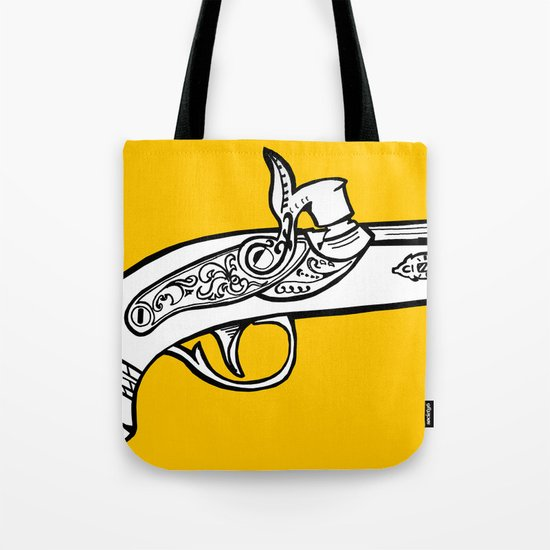 One shot Derringer, one shot gettin ya Tote Bag