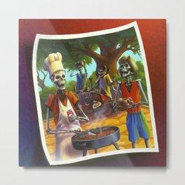 Say Cheese and Die! Metal Print