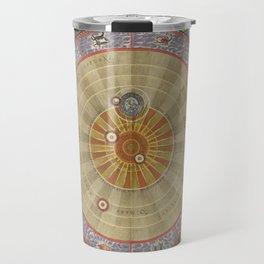 Keller's Harmonia Macrocosmica - Planisphere of Copernicus 1661 Travel Mug