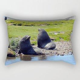 Fur Seals Rectangular Pillow