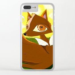 FLYING FOX Clear iPhone Case