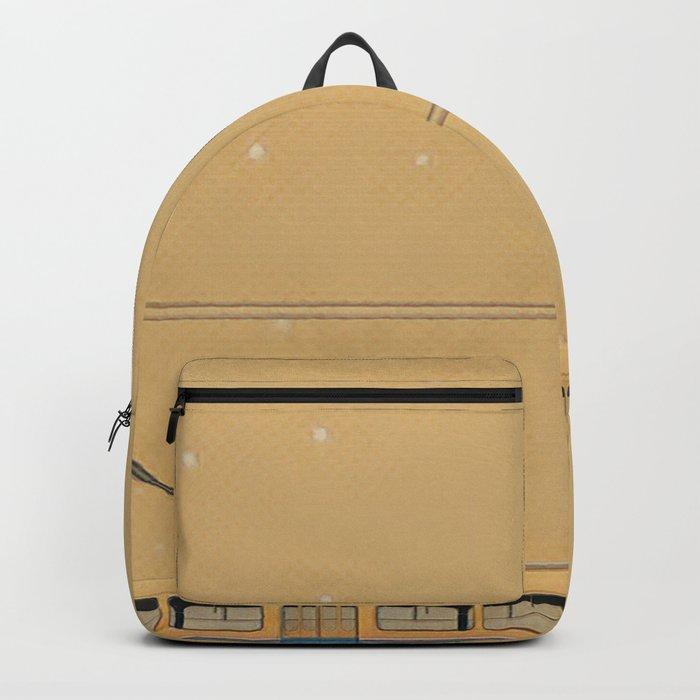 Trolleybus & stars Backpack
