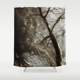 Beyond The Eyes Shower Curtain