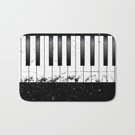 Jazz Piano Bath Mat