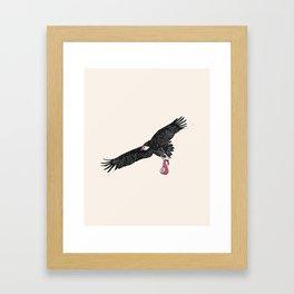 Mr. Bones Framed Art Print