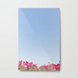 Flower Fields Series 2 Metal Print